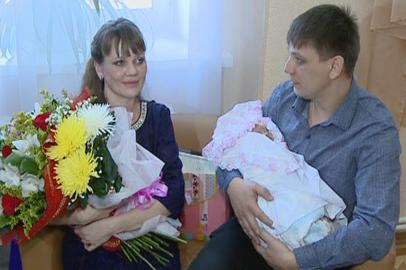 В Благовещенске зарегистрировали 4-тысячного новорождённого