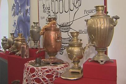 Выставка русских самоваров открылась в Благовещенске