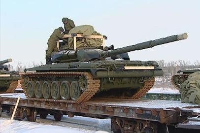 Амурские танкисты получили первую партию модернизированных Т-72