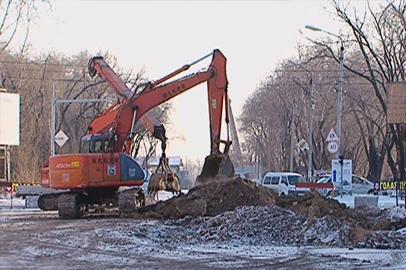 В Благовещенске перекрыли очередной участок улицы Зейская