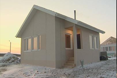 В Волково сдали первый дом для подтопленцев, построенный в рамках телемарафона