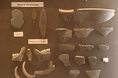 Экспозиция археологических находок открылась в научном музее АмГУ