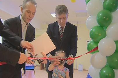 Детский сад на 200 мест открыли в Белогорске