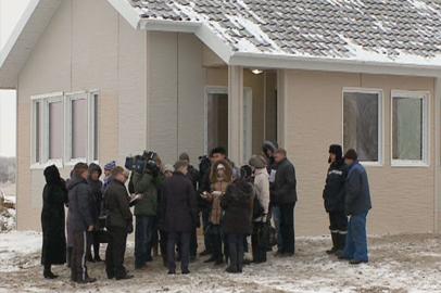 В Волково сдали дом для подтопленцев, построенный в рамках акции «Всем миром»