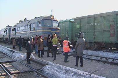 Расписание пригородных поездов в Приамурье изменится из-за новогодних праздников