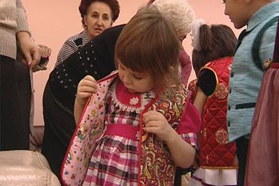 Национальные подарки из Тувы получили воспитанники реабилитационного центра «Мечта»