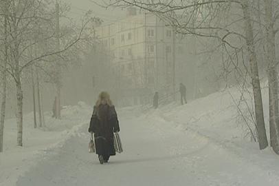 Сибирский антициклон принес в Приамурье сильные морозы