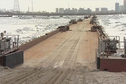 Понтонный мост через Амур разберут в конце апреля