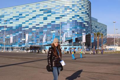 Сотрудница Сбербанка из Благовещенска побывала на сочинской Олимпиаде