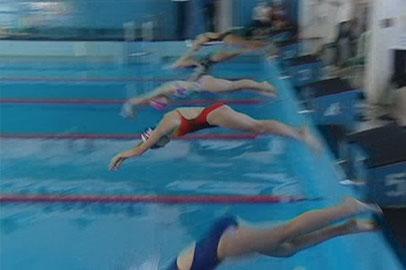Праздничный турнир провели благовещенские пловчихи