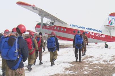 Почти 100 специалистов «Амурской авиабазы» будут бороться с природными пожарами
