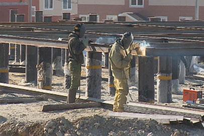 Возведение второй очереди микрорайона Таежный идет в Тынде