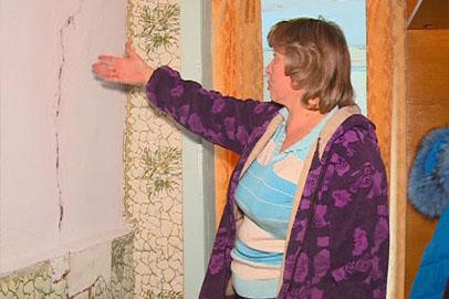 В подтопленных сёлах после зимовки повторно оценивают состояние домов