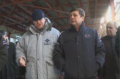 В Углегорске с очередной инспекцией побывал глава Роскосмоса