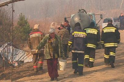 Пожарные и добровольцы успешно справились с палами в окрестностях Благовещенска