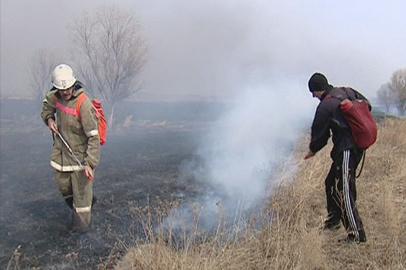 Павловку Белогорского района пожарные отстояли за 4 часа