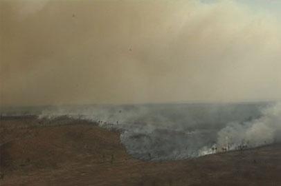 В Приамурье продолжается борьба с природными пожарами