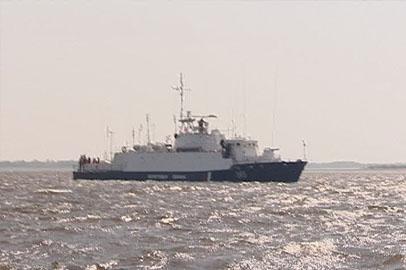 На охрану Госграницы в Благовещенске заступил первый сторожевой корабль