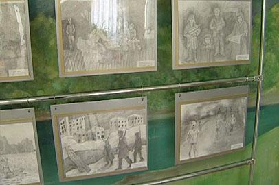 Благовещенские школьники ко Дню Победы подготовили передвижную выставку