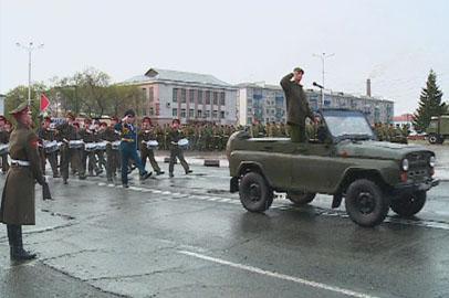 В Благовещенске и Белогорске прошли генеральные репетиции парада ко Дню Победы