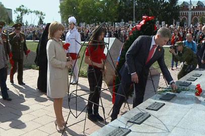 В Благовещенске прошли торжества в честь Дня Победы