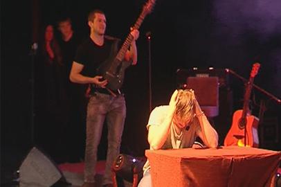 Рок-спектакль о борьбе добра и зла за жизнь наркомана сыграли в Благовещенске