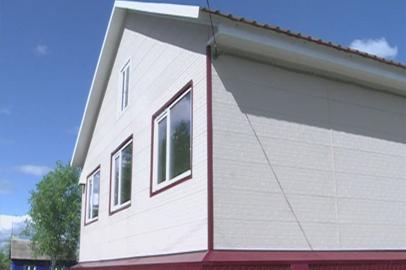 В Архаринском районе сдали первые 5 домов для подтопленцев