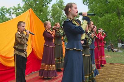 Сезон казачьих ярмарок открыли в Грибском
