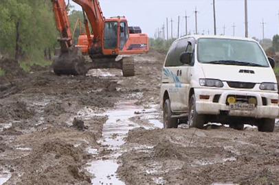 На восстановление дороги «Архара-Сагибово» брошены дополнительные силы