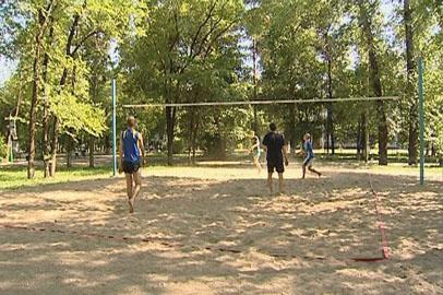 Сезон пляжного волейбола в Благовещенске снова проходит не на берегу реки