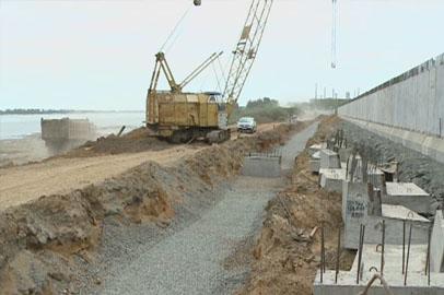 В Приамурье полным ходом идут работы по созданию гидрозащитных сооружений