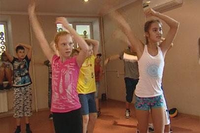 Танцевальную смену организовали для благовещенских школьников