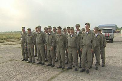 Амурские парашютисты отправились в Якутию тушить лесные пожары