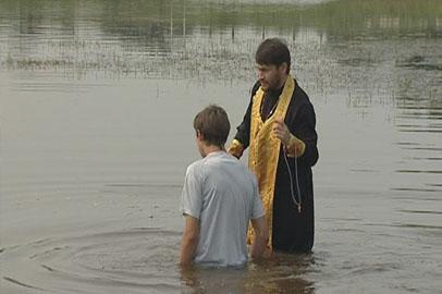 Массовый обряд крещения состоялся в Приамурье