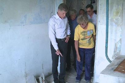 Власти Архаринского района усилят контроль капремонта подтопленных домов