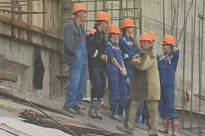 Возводить Нижне-Бурейскую ГЭС помогают почти 100 студентов
