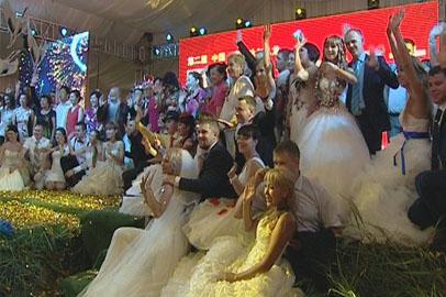 Семьи из Приамурья побывали на фестивале бракосочетания в Цицикаре