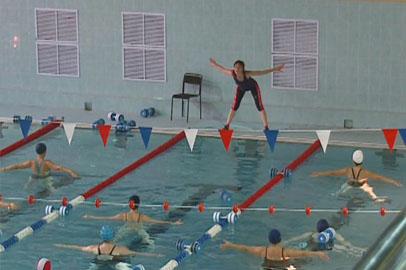 Занятия по аквааэробике открылись в благовещенском бассейне «Студенческий»