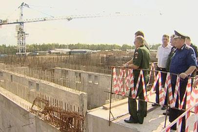 Директор «Спецстроя России» осмотрел стройплощадки «Восточного»