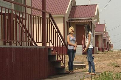 Подтопленцы готовятся к переезду из ПДП в новое жилье