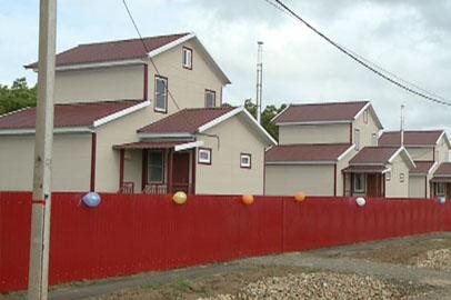 В Волково сдали дома для подтопленцев, построенные на средства телемарафона