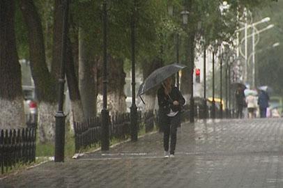 Жаркие выходные в Приамурье сменились циклоном