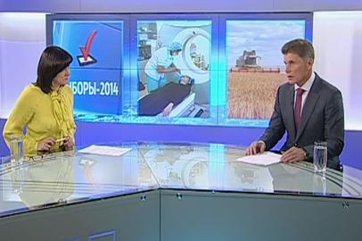 Интервью с губернатором Амурской области О.Кожемяко