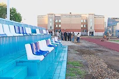 Готовность четырех школьных стадионов в Благовещенске составляет 90%