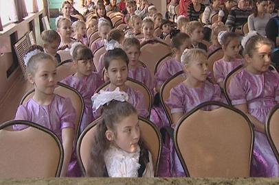 Почти 130 ребят посвятили в первоклассники в ЦДШИ Благовещенска