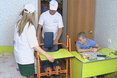 Амурским детям с диагнозом ДЦП благотворители подарили реабилитационное оборудование