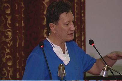 Московский хирург провел мастер-класс для амурских коллег