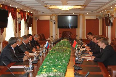 Глава Приамурья обсудил с делегацией из Белоруссии вопросы поставки техники