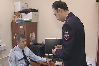 Сотрудники полиции отмечают профессиональный праздник