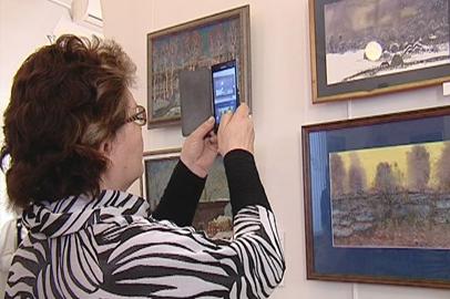 Амурский художник Сергей Борисенко впервые представил свои работы публике